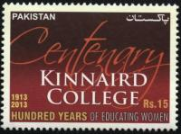 For the graduates of Kinnaird College for Women, Lahore.